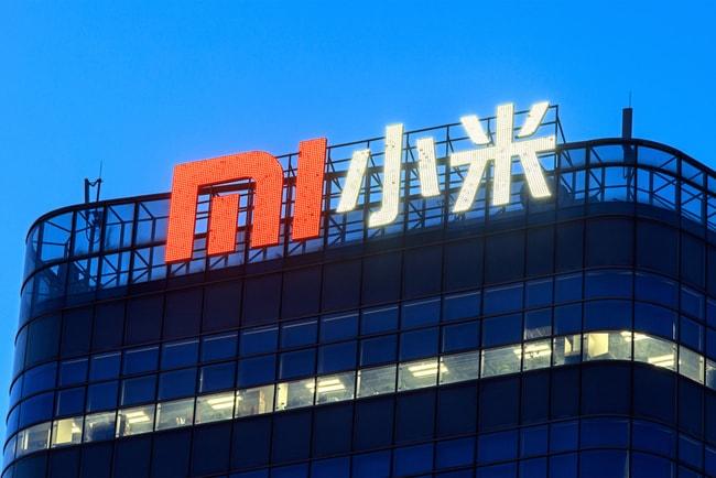 Xiaomis kontor i Beijing i Kina