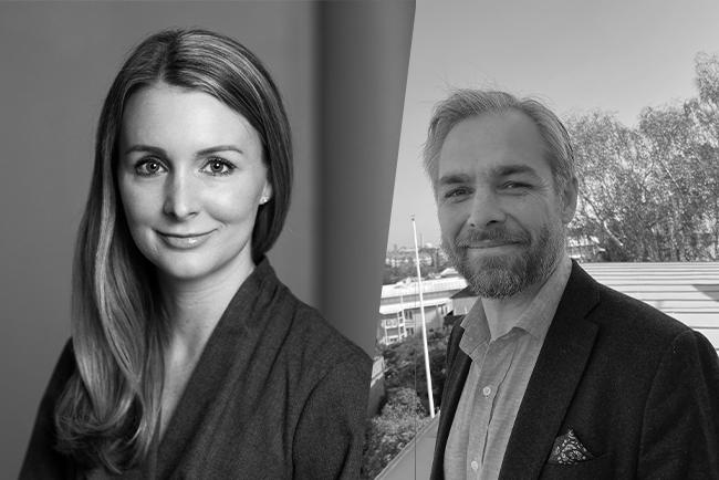 Johanna Tham och Robert Liljeström är hjärnorna bakom Digital Sverige - Telias blogg om hållbar digitalisering för alla.