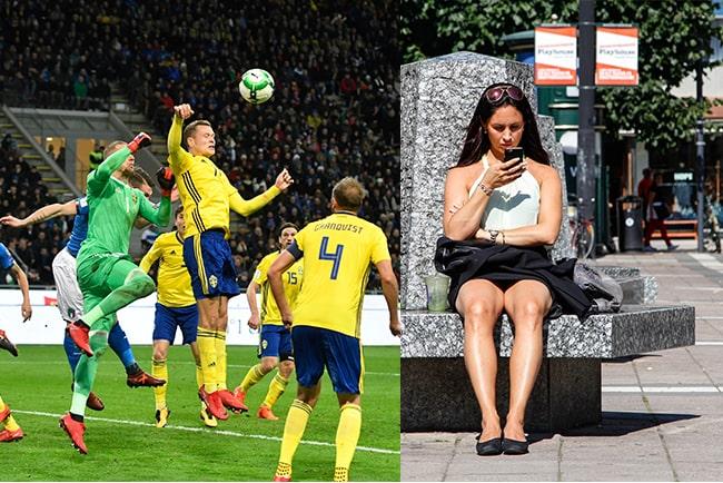 Värme och fotbolls-VM gav nytt surfrekord i sommar