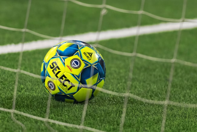 Gul fotboll