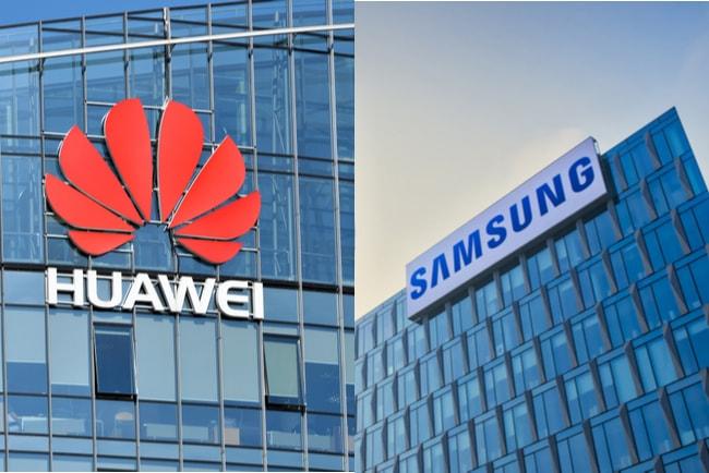 Huawei och Samsung har sålt flest 5G-mobiler