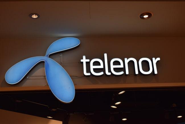 Telenors logga